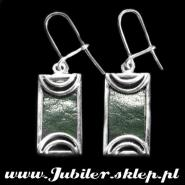 Silver earrings - hand made