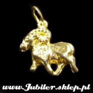 Golden sign of the zodiac - aries