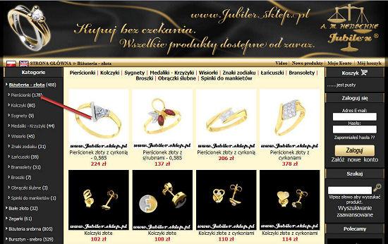 Biżuteria srebrna, pierscionki, korale, zegarki, sygnety