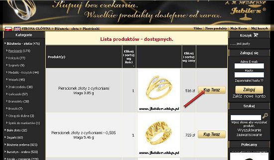pierscionki, zegarki, korale, sygnety, bi¿uteria srebrna